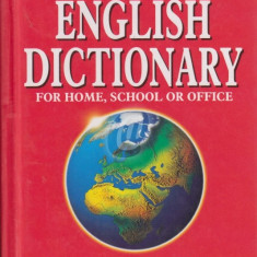 Webster's Compact English Dictionary for home, school or office