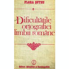 Dificultatile ortografiei limbii romane