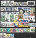 B1829 - Lot timbre Suedia - Anul 1987 complet stampilat