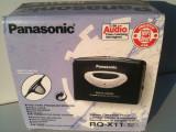 Panasonic RQ-X11 Walkman casetofon metal functional NOU in cutie casti + remote
