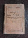 ELEMENTE DE SOCIOLOGIE, PENTRU CLASA VIII-A SECUNDARA - DIMITRIE GUSTI, TRAIAN HERSENI EDITIA II-A