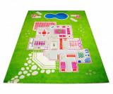 Covor de joaca Playhouse Big 3D Green 134x200 cm