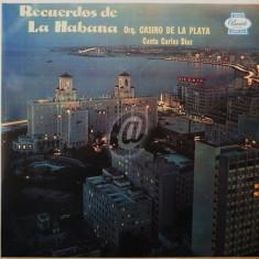 Orq. Casino De La Playa, Carlos Díaz- Recuerdos de la Habana (Vinil)