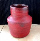 Vaza veche Kreutz.Fat Lava/Lava grasa,vulcanica.An 1958-1960.H 10cm