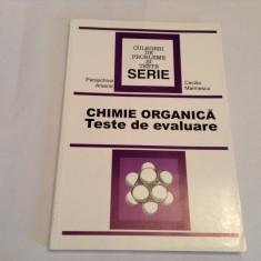 PARASCHIVA ARSENE   CHIMIE ORGANICA TESTE DE EVALUARE--RF14/3