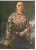 CPIB 16569 CARTE POSTALA - MUZEUL DE ARTA PLOIESTI. C. LECCA - PORTRET DE FEMEIE, Necirculata, Fotografie