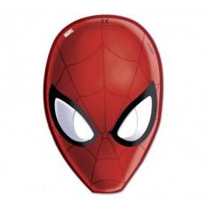 Masti petreceri Spiderman Web Warriors set 6 buc