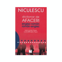 Dictionar de afaceri englez-roman, roman-englez