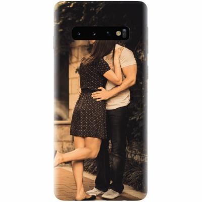 Husa silicon pentru Samsung Galaxy S10, Couple Kiss foto