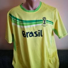 Tricou fotbal Brazilia. Marimea L.