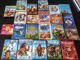 Lot dvd-uri si jocuri pt copii Disney Pixar clasice distractive filme muzica