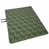Pătură XL 170 x 210 cm verde, Quechua