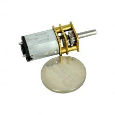 Micro Motor GA12-N20 cu Reductor 1:298 și Ax de 10 mm