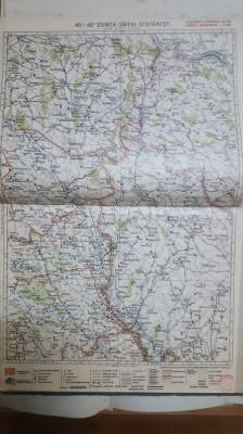 Harta Edinița, Săveni, Stefănești, Crașna-Leuca, Mogilew, 1929 foto
