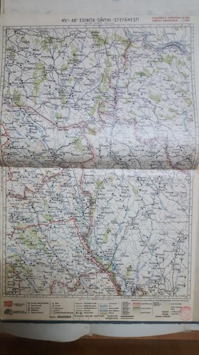 Harta Edinița, Săveni, Stefănești, Crașna-Leuca, Mogilew, 1929