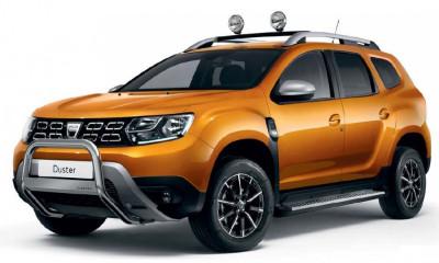 Duster II (2018-) - Bullbar cu Logo (Dacia Original) foto