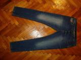 """Blugi Zara """"Black Tag""""-Marime W38xL34 (talie-98cm,lungime-111cm)"""