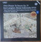 LP  The Orpheus Chamber Ensemble - Otto Olsson / Jean Langlais
