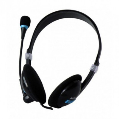 Casti Audio cu Microfon Astrum HS110 (Call Center) foto