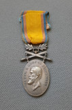 Medalie Barbatie si Credinta - clasa a 2 a - model de razboi cu spade