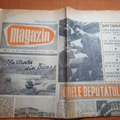 magazin 4 august 1962-articol orasul roman,localitatea bicaz,gradina zoologica