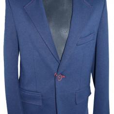 Sacou casual-elegant pentru baieti-Koszulland SKO5-B, Visiniu