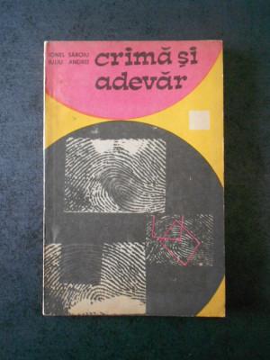 IONEL IULIU - CRIMA SI ADEVAR foto