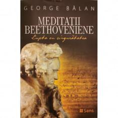 Meditatii Beethoveniene. Lupta cu singuratatea - George Balan