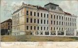 Carte postala Timisoara Scoala militara austro-ungara cadeti infanterie