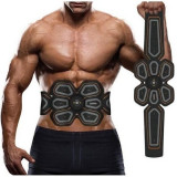 Centura electrostimulare Six Pack EMS GOLDTIN pentru abdomen si solduri