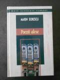 MARIN SORESCU - POEZII ALESE