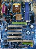 Placa de baza Gigabyte K7 Triton - socket a  +procesor Athlon XP 2000+ + 512ddr1, Pentru AMD, DDR