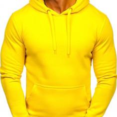Hanorac bărbați galben Bolf 2009