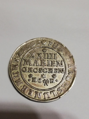 Monedă argint Statele Germane foto