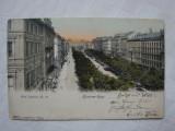 Carte postala circulata la Orsova in 1904 - Viena, Hotel Imperial, Austria, Printata