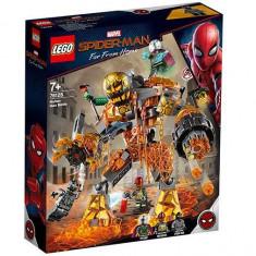 LEGO Marvel Super Heroes - Batalia cu Molten Man 76128