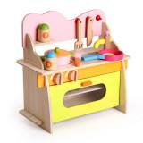 Bucatarie din lemn - joc de rol pentru copii, Oem