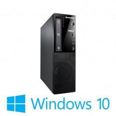 PC Refurbished Lenovo ThinkCentre E73 SFF, Quad Core i5-4460s, Win 10 Home