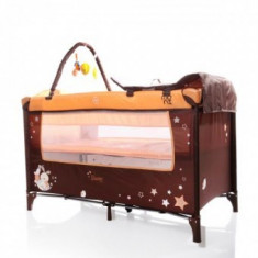 Patut Pliant Bebe 0-36 luni Moni Sleepy 2 Orange