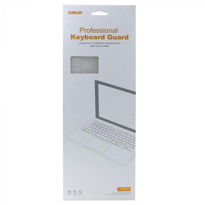 Folie protectie tastatura pentru Macbook Pro 13.3 15.4 Touch Bar - versiunea americana