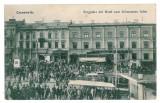 4141 - Cernauti, Bucovina, Market - old postcard - used - 1912