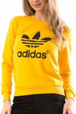 Bluza dama Adidas Yellow foto