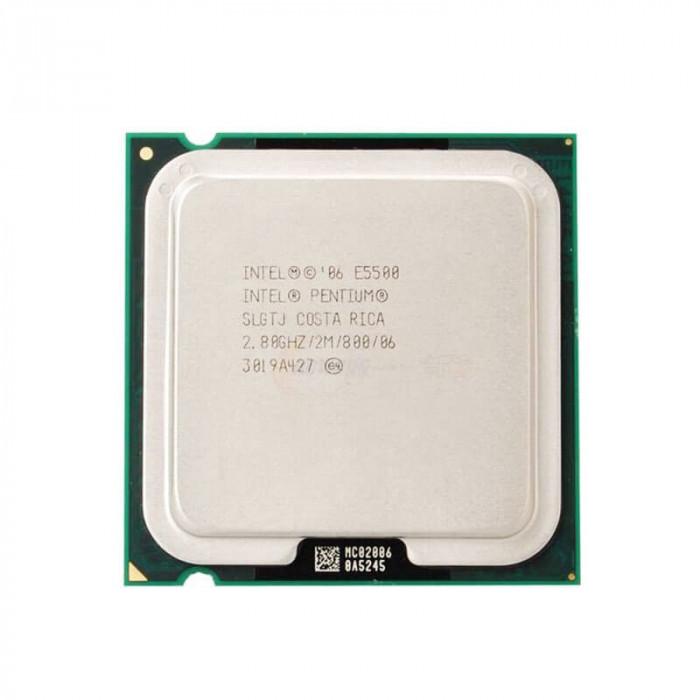 Procesor Refurbished Intel Pentium E5500, 2.80GHz, 2Mb Cache