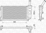 Radiator apa racire motor FIAT PUNTO 1.4 intre 2003-2012