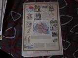 plansa veche de colectie dim 49x34cm boxa