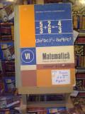 """C. P. Popovici - Matematica Algebra Geometrie man pt cls a VI a """"A4505"""""""