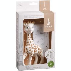 Girafa Sophie si saculet de transport Vulli