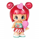 Cumpara ieftin Figurina Pinypon, 7 cm cu dulciuri, Inimioara, Famosa