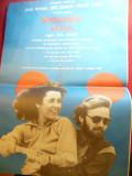 Afis - Filmul  Intoarcerea acasa cu Jane Fonda si Jon Voight 1978 ,dim.=31x46