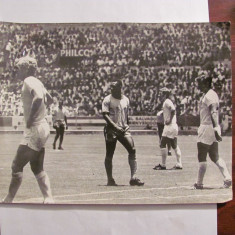CY - Foto meci Brazilia - Anglia 1 - 0, grupa Romania, CM Mexic 1970